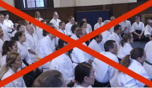 Aikido Course Cancellations