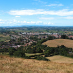 Glastonbury from the Tor